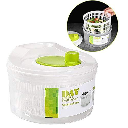 RUNYN Salad Spinner Salad Spinner Salad Greens Dryer Fruit Washing Clean Storage Basket