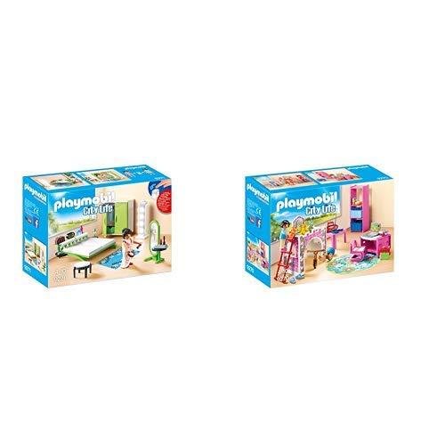 Playmobil 9271 - Schlafzimmer &  9270 - Fröhliches Kinderzimmer
