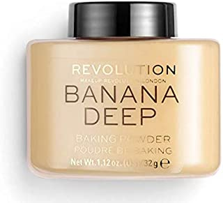 Makeup Revolution Loose Baking Powder ~ Banana Deep