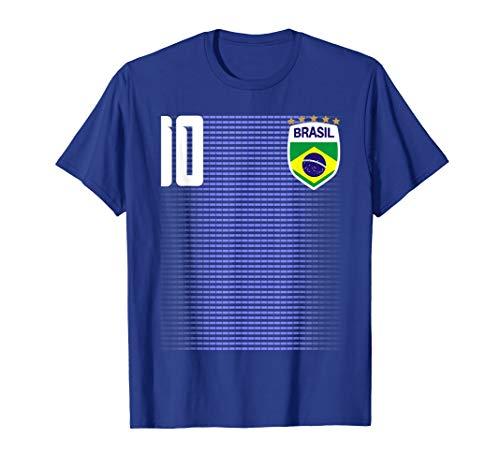 Brasil Brazil Futebol Soccer Jersey Shirt Tee Camiseta