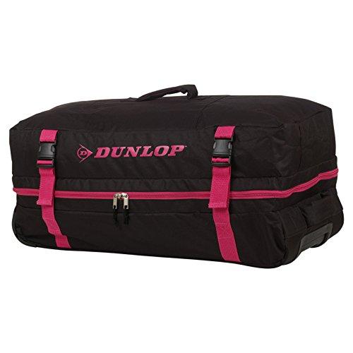 Dunlop Leichte Reise Gepäck Sporttasche mit Rollen Trolley System Tragegriff Bowatex