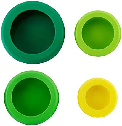 Hoan Silicone Food Huggers Set Of 4 Assorted 5262716 product image