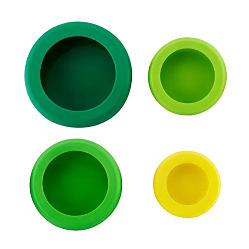 Hoan Silicone Food Huggers Set Of 4 Assorted 5262716