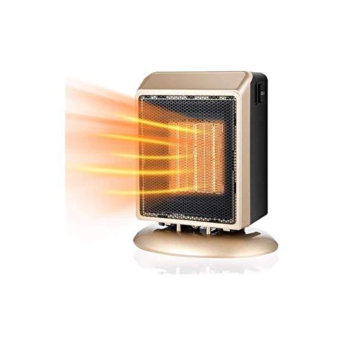 Calentador eléctrico, Calentador de ventilador 900W Calentador eléctrico Portátil Mini caliente Fan...