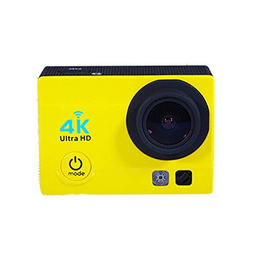 FENGSHUAI Action-Kamera, Sportkamera 170 Grad Weitwinkelobjektiv Wifi1080 Tauchen 4K Motion Camera