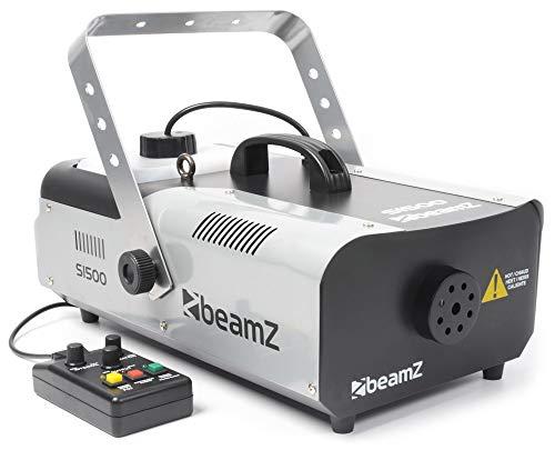 BeamZ S1500 MKII 1500 Watt Rookmachine met Interval, Timer en DMX