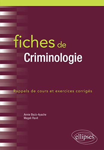 Fiches de Criminologie (French Edition)