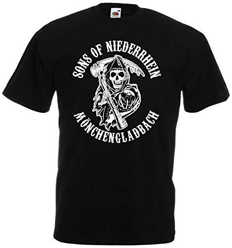 Sons of Niederrhein Mönchengladbach Herren T-Shirt Ultras