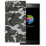 dessana Camouflage transparente Schutzhülle Handy Case