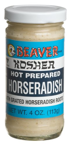 Beaver Kosher White Horseradish, 4 oz
