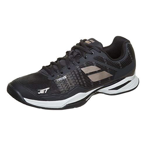 Babolat Hommes Jet Mach I Clay Chaussures De Tennis Chaussure Terre Battue Noir - Or 44
