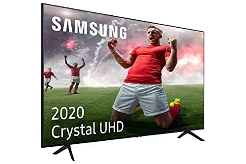 Samsung Crystal UHD 2020 65TU7095 - Smart TV de 65', 4K, HDR 10+, Procesador 4K, PurColor, Sonido Inteligente, Función One Remote Control y Compatible Asistentes de Voz, Compatible con Alexa