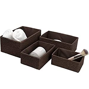 LA JOLIE MUSE Storage Baskets Set 4