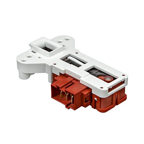 MIRTUX Interruptor Retardo blocapuertas para Lavadoras Aspes, Edesa, Brandt, Smeg, Thomson, Vedette, White Westinhouse. Código recambio: L39A004I8