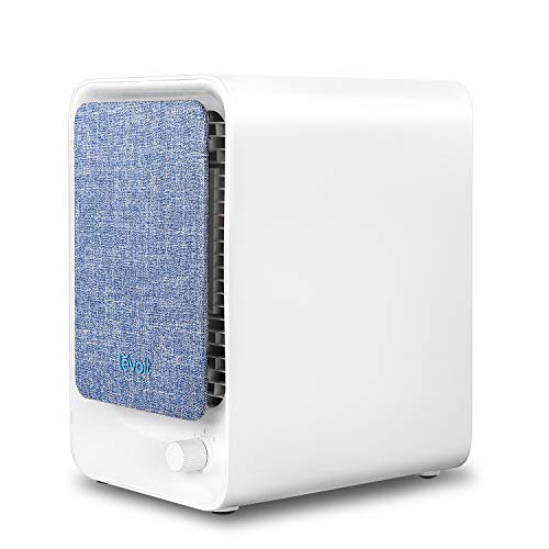 LEVOIT Air Purifier for Home with HEPA Filter, Compact Air Cleaner Purifiers for Allergies and Pets, Smokers, Pollen, Mold, Dust, Quiet Odor Eliminator for Bedroom, Small Room, LV-H126