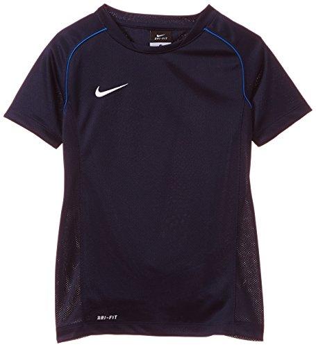 NIKE Kurzarm Shirt Foundation 12 Training - Camiseta de equipación de fútbol para Hombre, Color Azul (Obsidian/Royal Blue/White), Talla m