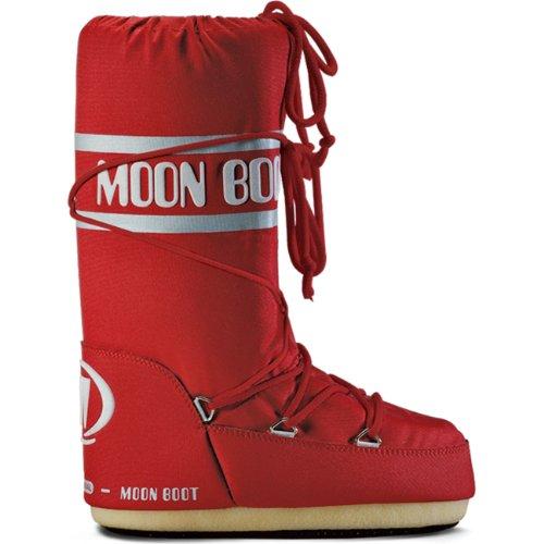 Moon Boot Bottes après-ski en nylon, pour adultes - Unisexe - - red (003), 43