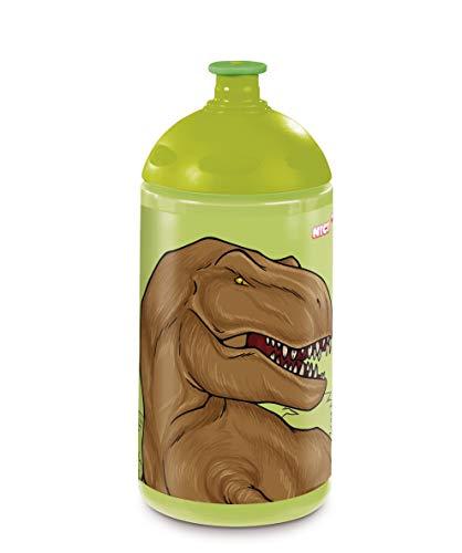 NICI 45454 Trinkflasche, Dino, 0,5l, grün