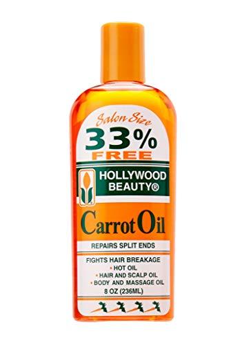Hollywood Beauty Carrot Oil, 8 Ounce