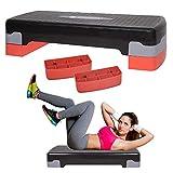 SPRINGOS Stepper Stepper Stepper pour Exercices de Fitness 2 Niveaux