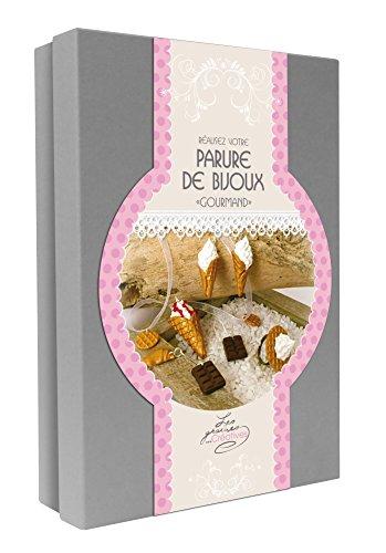GRAINE CREATIVE 815003 Kit Parure de Bijoux Gourmands, Carton, Or, 19,5 x 5,2 x 27,5 cm