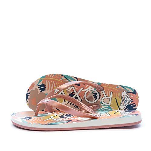 Roxy Tahiti, Zapatos de Playa y Piscina para Mujer, Rosa (Rose Gold Rsg), 37 EU
