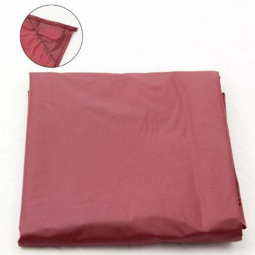 Schutzhülle für Billard- oder Snookertische, Nylon, beschwert, 2,13 m, Rot