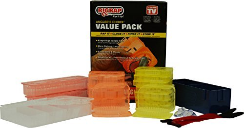 RIGRAP Angler's Choice Value Pack, Black
