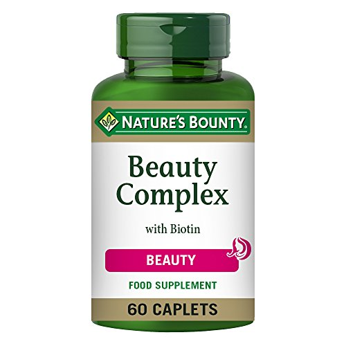 Nature's Bounty Beauty Complex with Biotin Caplets - Pack of 60