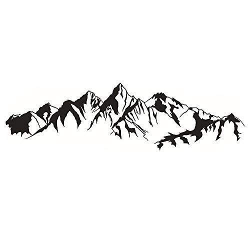 Top mountain decals for walls for 2020