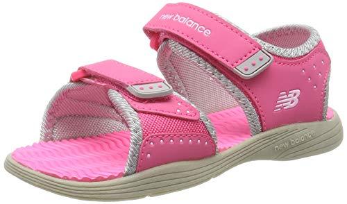 New Balance Sandal K Bout Ouvert Mixte Enfant, Rose (Pink K2004GRP), 35 EU