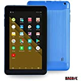 Haehne 9 Inch Tablet PC, Google Android 6.0 Quad Core,800480 Screen, 1.3GHz, Dual Cameras, 1GB RAM 16GB ROM, 3000mAh,Bluetooth, WiFi (Blue)