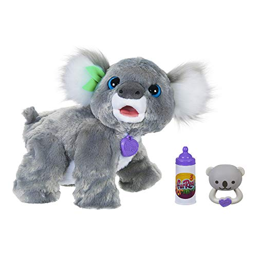 FurReal Friends Koala Kristy Interactive Plush Pet Toy, 60 Plus Sounds and Reactions, Age 4 and Up
