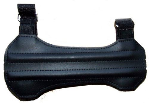 Cartel 101 - Protector de brazo para arqueros, color negro