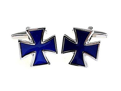 TEROON Manschettenknöpfe Bundeswehrkreuz