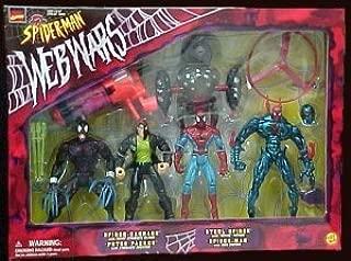 Spider-Man Web Wars Box Set 4 Action Figures