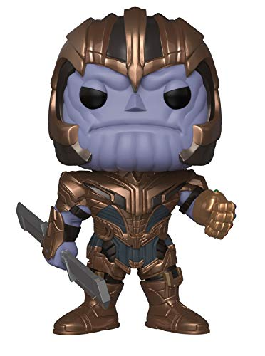 Funko - Figurine Marvel - Avengers Endgame - Thanos Supersize Pop 26 cm - 0889698371452