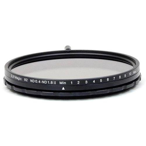 SLR Magic 82mm MK II Variable Neutral Density (ND) Filter - 0.4 to 1.8 (2.3 to 6 Stops)