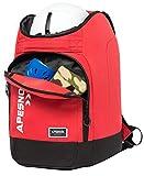 APESNOIC Ski Boot Bag Waterproof Ski Bags for Travel Stores, Black,...