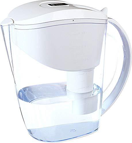 Wellblue Alkaline White Water Filter Pitcher