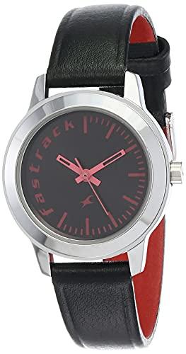 Fastrack Fundamentals Analog Black Dial Women's Watch - 68008SL02