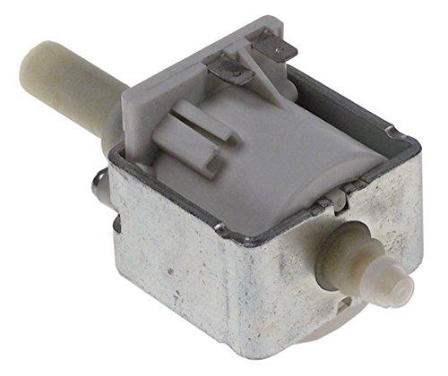 ULKA EP5GW Vibrationspumpe 48W 230V Eingang ø 6mm Ausgang 1/8' Länge 123mm 50Hz Kunststoff Ausgang konisch