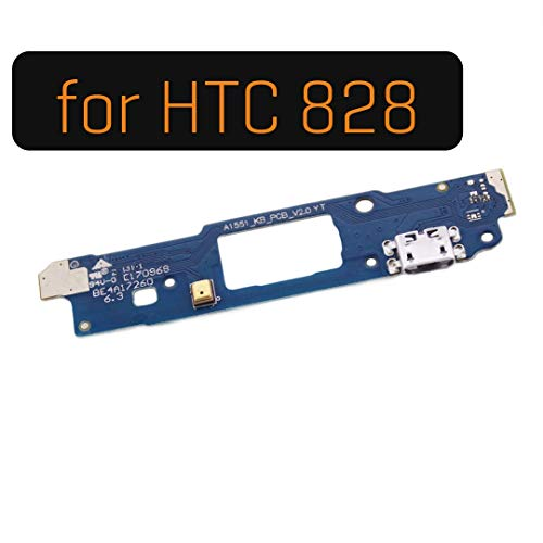 SPAREWARE USB Charging Port Dock Connector Charging Flex Cable Part Compatible for HTC Desire 828