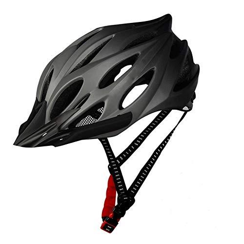 SFBBBO Bike Helmet Unisex Lightweight Bicycle Helmet, Ultra-Light Helmet, Integrated Mountain Road Mountain Bike Helmet Gray