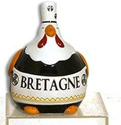 e80dd49fd44fb Collection Les Petites Cocottes Poule Deco CERAMIQUE Noir 15cm Bretonne  Coiffe BIGOUDENE DE Bretagne - 012169