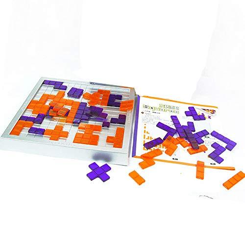Brigamo ◥ Block Tetris Junior Brettspiel, Strategiespiel ◥