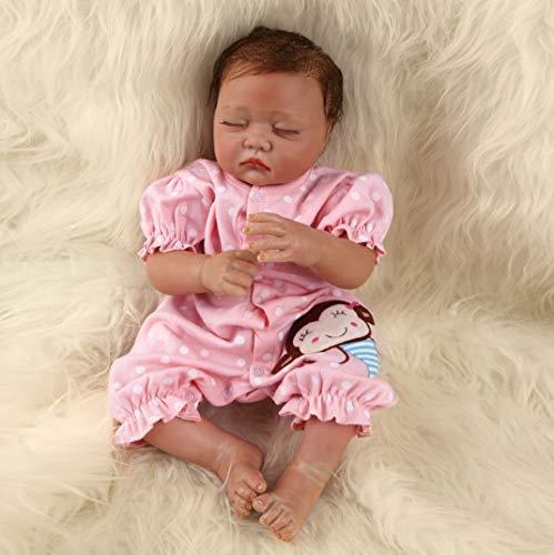 ZIYIUI Muñecas Bebes para Niñas Hecho a Mano Bebes Reborn Silicona Recien Nacidos Reborn Niña Niño Reborn Baby Dolls Recién Nacido Regalo de Juguete 20inch 50cm