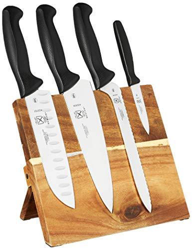 Mercer Culinary Millennia - Juego de 5 pizarras magnéticas con asas negras