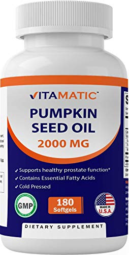 Vitamatic Pumpkin Seed Oil 2000mg S…