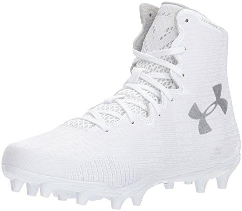 Under Armour Men's Leadoff Low RM Baseball Shoe, (100)/White, 12.5